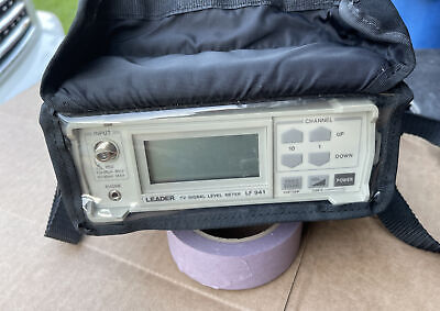 Leader Lf 941 Catv Digital Signal Level Meter Broadcast Vhfuhf Excellent Shape
