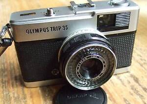 Olympus Trip film camera with the Zuiko 40mm F2.8 lens. Balwyn North Boroondara Area Preview