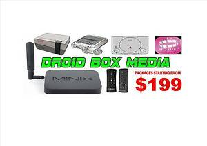 Android TV Box * HD SUBS+ Free 7 Day Trial * MINIX U1 Media Hub Joondalup Joondalup Area Preview
