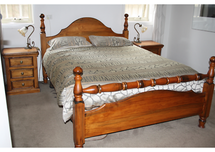 Queen Size Solid Timber Bedroom Suite