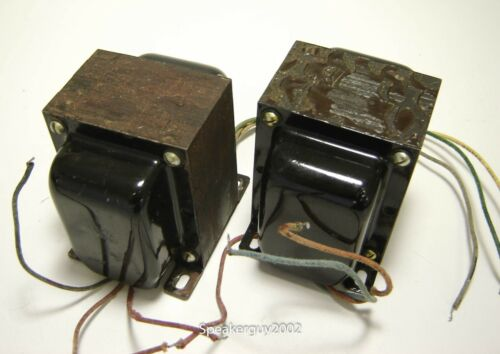 Pair Conn / Foster Tube Output Transformers / K70272 -- KT2