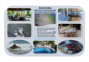 Temporary Short Term Accommodation suit Travellers/Lexis students Mooloolaba Maroochydore Area Preview