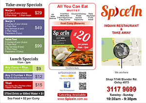 Indian Restaurant for Sale - URGENT Sale Oxley Brisbane South West Preview