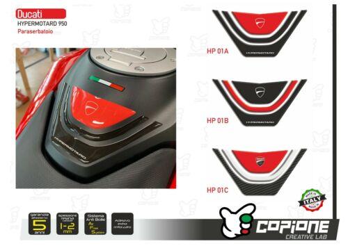 Tank Pad Resin Sticker 3D DUCATI Hypermotard 950 HP 01