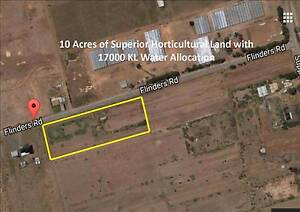 10 Acres of Superior Horticultural Land with 17000 KL Water Alloc Wakefield Area Preview