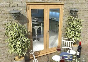 Patio french doors 5ft 1500mm 44mm 1 8 u value for 1500mm french doors