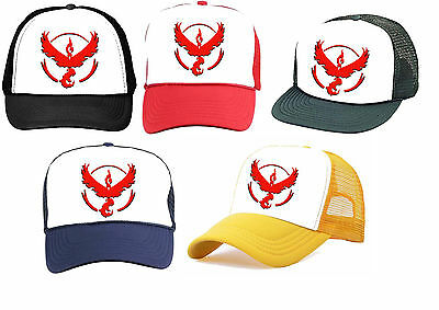 Pokemon Go TEAM VALOR Hat Cap game cosplay Halloween costume USA - Team Usa Halloween Costumes