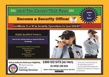 Become a Security Officer (Course from $10.00) Logan Central Logan Area Preview