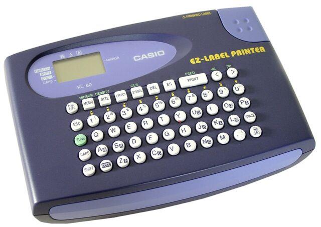 Mobiles Beschriftungsgerät Casio KL-60