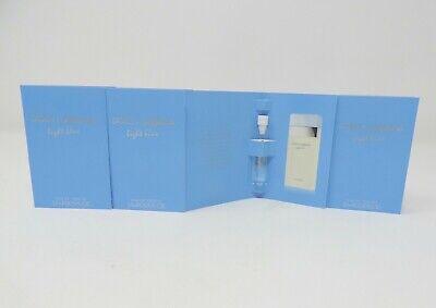 4X Dolce & Gabbana Light Blue Perfume Sample Splash .05 oz + 3 Gifts comprar usado  Enviando para Brazil