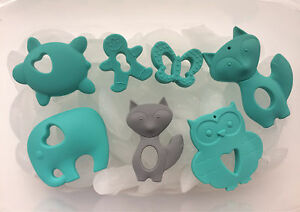 Silicone Teethers and Sensory Aids