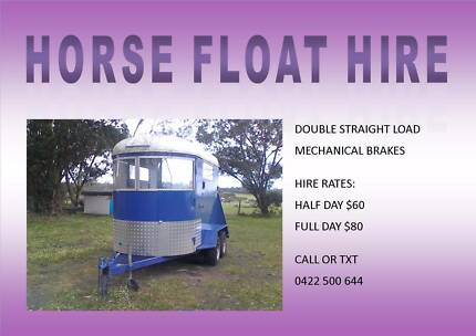 Horse Float Hire