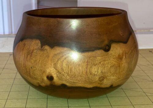 Hawaiian Milo Wood Calabash/Bowl~Local Artist~Gallery & Collector Quality~(#10)