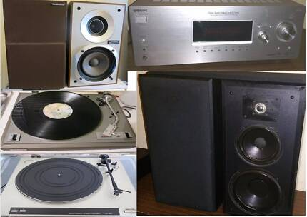 Bose ,Rotel,Polk Audio,Speaker,Turntable,Amplifier, Subwoofer South Yarra Stonnington Area Preview