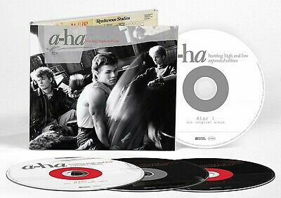 A-HA CD x 4 Hunting High And Low EXPANDED 2019 Digi-Pk Demos B-Sides AHA Sealed