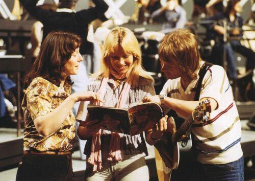 ABBA - MUSIC PHOTO #F-24