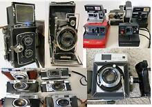 Flm Cameras,Polaroids ,SLRs South Yarra Stonnington Area Preview