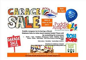 Puddle Jumpers Garage Sale Forestville Unley Area Preview