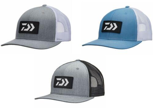 Daiwa D-Vec Two-tone Logo Trucker Hats w/ Rubber Patch Richardson 112 Snapback