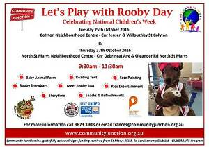 Free Children's Week events in Colyton and North St Marys Colyton Penrith Area Preview