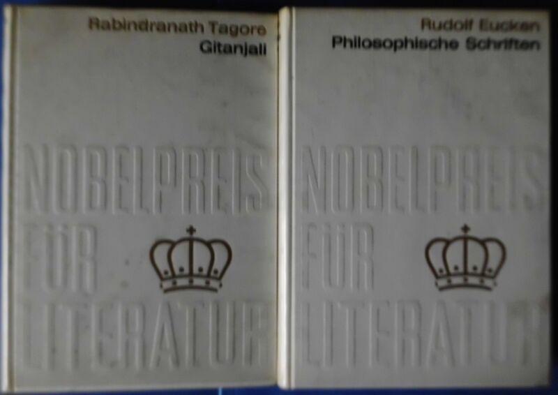 10 x Nobelpreis für Literatur: Philosophische Schriften von Rudolf Eucken, 1908