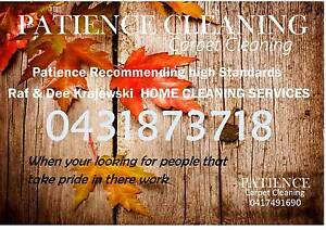 PATIENCE HOME CLEANING SERVICES Newcastle Newcastle Area Preview