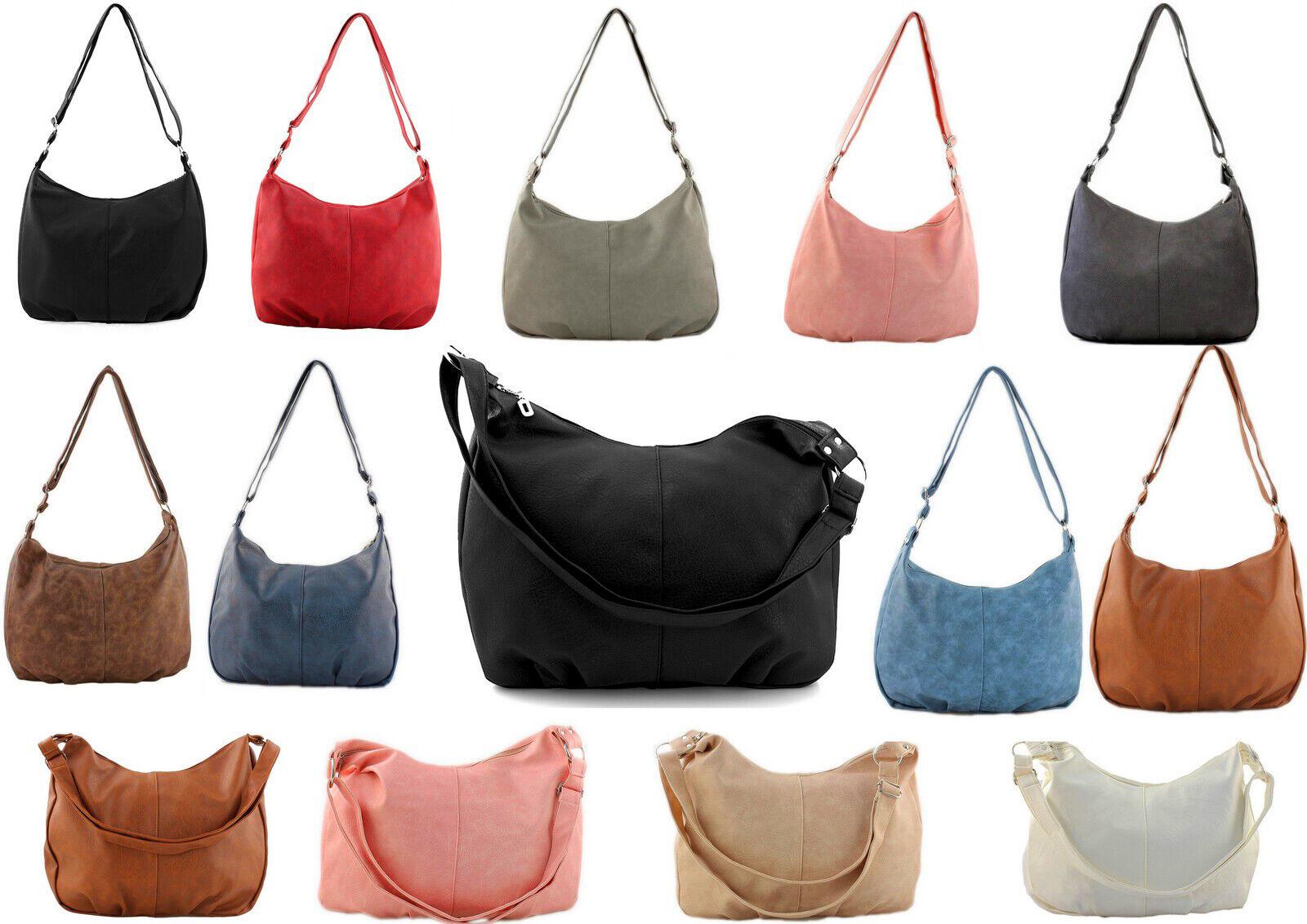 65540a9ebc272 Handtasche Schwarz Schultertasche Damen Shopper Bag grosse Damentasche  Tasche