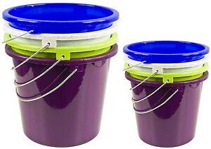 10 oder 5 liter eimer lebensmittelecht putzeimer plastik kunststoff wassereimer. Black Bedroom Furniture Sets. Home Design Ideas