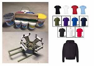 Start you own Tshirt brand with this great screen printing setup! Lane Cove Lane Cove Area Preview