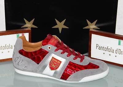 PANTOFOLA D´ORO Leder-Sneaker - IMOLA Scudo Patent Low Racing Red - Neu&OVP! Patent Leder