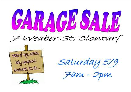 Garage Sale - trying again - more items added! Clontarf Redcliffe Area Preview