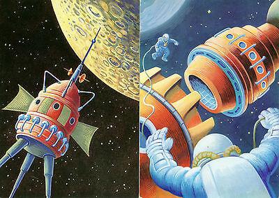 Raumstation/Mondfähre - VEB Bild und Heimat