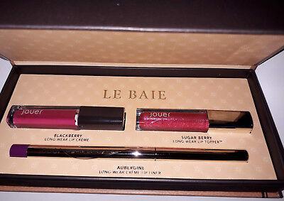Jouer Cosmetics Le Baie Jet-Set Lip Kit ( 2 x 2ml, 0.2g )