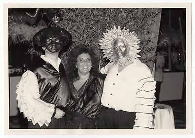 1988 Photo, Letter & Mailer: City of Hope Costume Party Souvenir [Must See!]