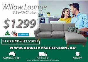 BRAND NEW AUS MADE HIGH QUALITY LOUNGE & SOFA, FREE HOME DELIVERY