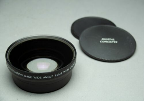 72mm Digital Concepts 0.45x High Definition Wide Angle Auxiliary Lens w/Macro