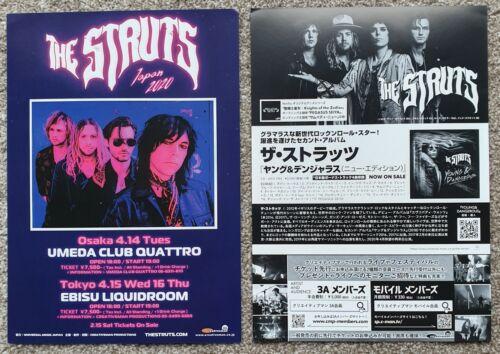 The Struts -  2020 Japan Tour Flyer -