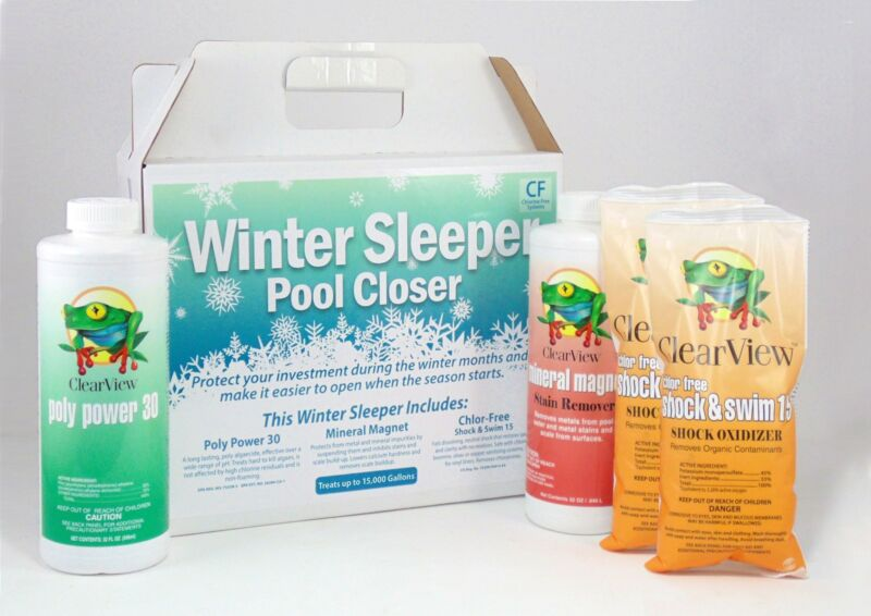 Clearview Winter Pool Closing Kit for 15,000 Gallon Pool WS1500CF