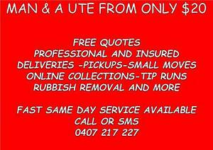 MATE WITH A UTE FROM $20 FREE QUOTES Mango Hill Pine Rivers Area Preview