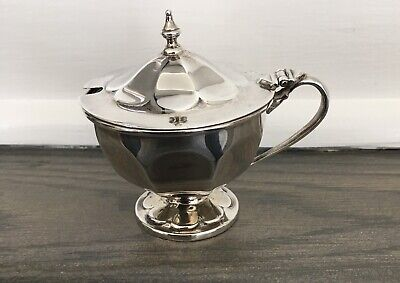 133g Antique Victorian Sterling Silver Dish Chester 1899