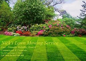 Nick's Lawnmowing Woolooware Sutherland Area Preview