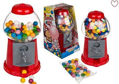 Vintage Kids Bubble Candy Dispenser Gumball Machine Bank