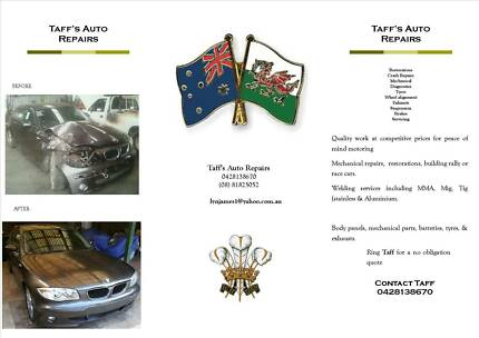Taff's Auto Repairs. Salisbury Salisbury Area Preview