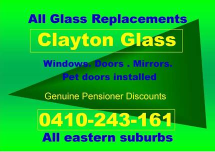 CLAYTON GLASS & GLAZING