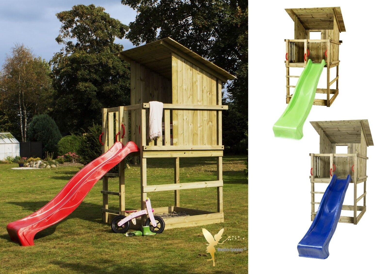 Klettergerüst Kinder Test : Spielturm mit rutsche und sandkasten test vergleich