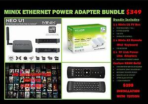 ANDROID MEDIA PLAYER * EPL LIVE * UK CHANNELS * POWERLINE ADAPTER Joondalup Joondalup Area Preview