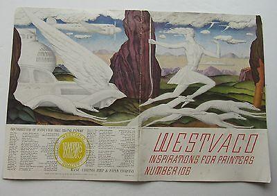 Westvaco Inspirations For Printers No. 106 Cover Design  Ludolph P Welanetz c37