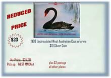 1990 AUSTRALIAN $10 SILVER COIN West Mackay Mackay City Preview