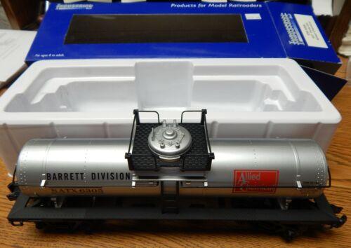 INDUSTRAIL RAIL 6005 ALLIED CHEMICAL TANK CAR NEW IN BOX O27 SCALE LQQK