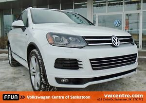 2014 Volkswagen Touareg 3.0 TDI Execline heated steering whee...